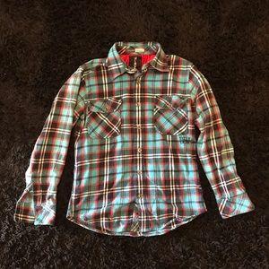 Billabong flannel MENS small